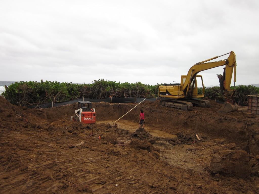 12-29-2010 - Main Cistern Digging