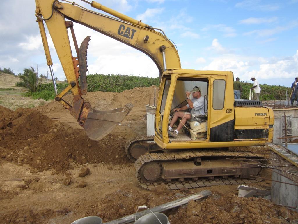 Our contractor John Hebert
