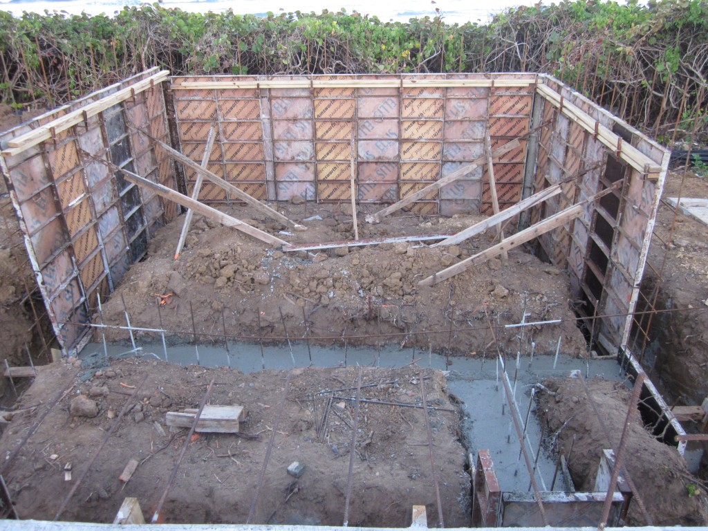 Office Footings 1/27/2011