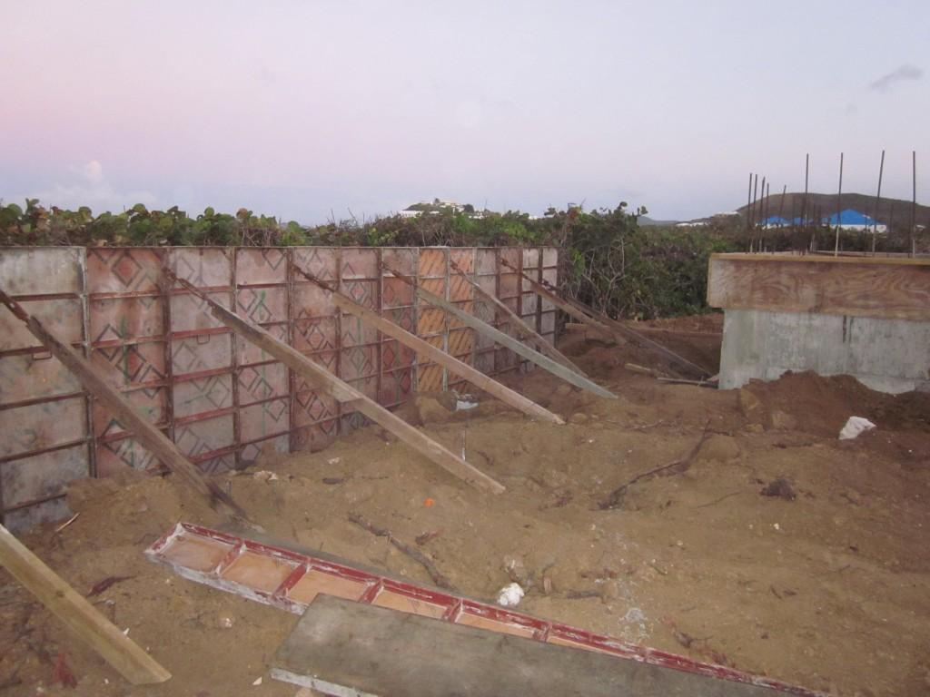 2-15-2011 - Garden Wall Forms