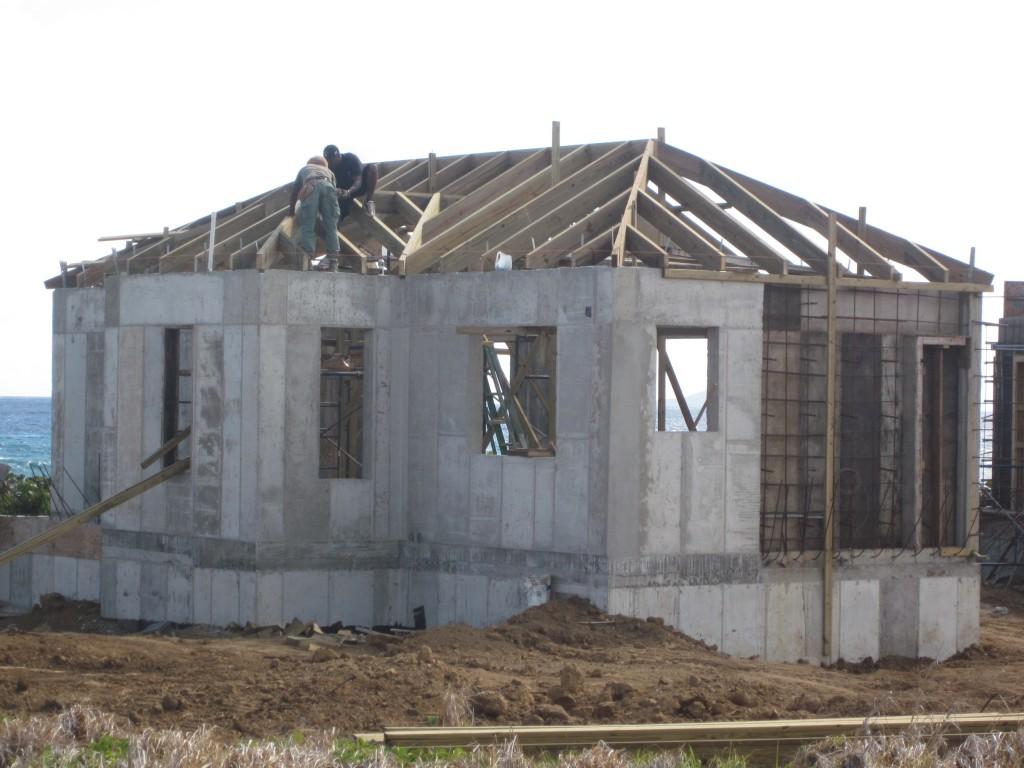 3-3-2011 - Rafter Work