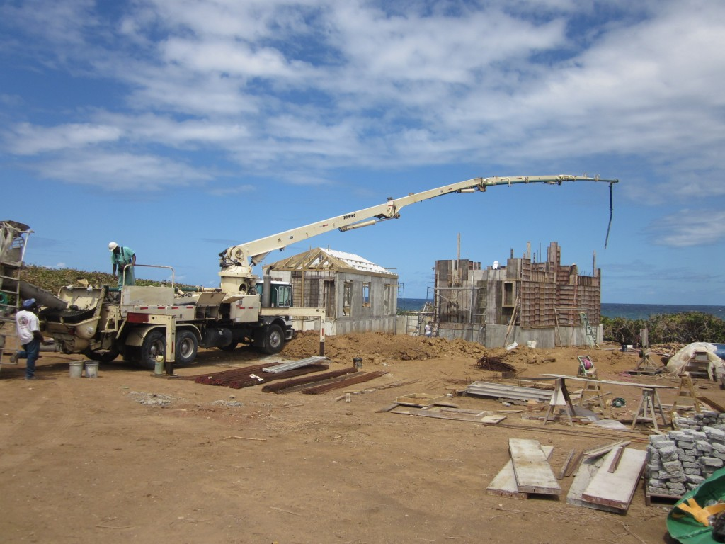3-7-2011 - Pouring Walls