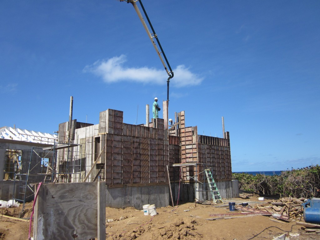 3-11-2011 - Pouring Walls