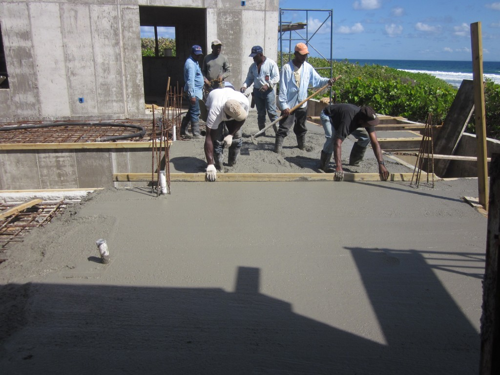 4/18/2011 - Pouring deck