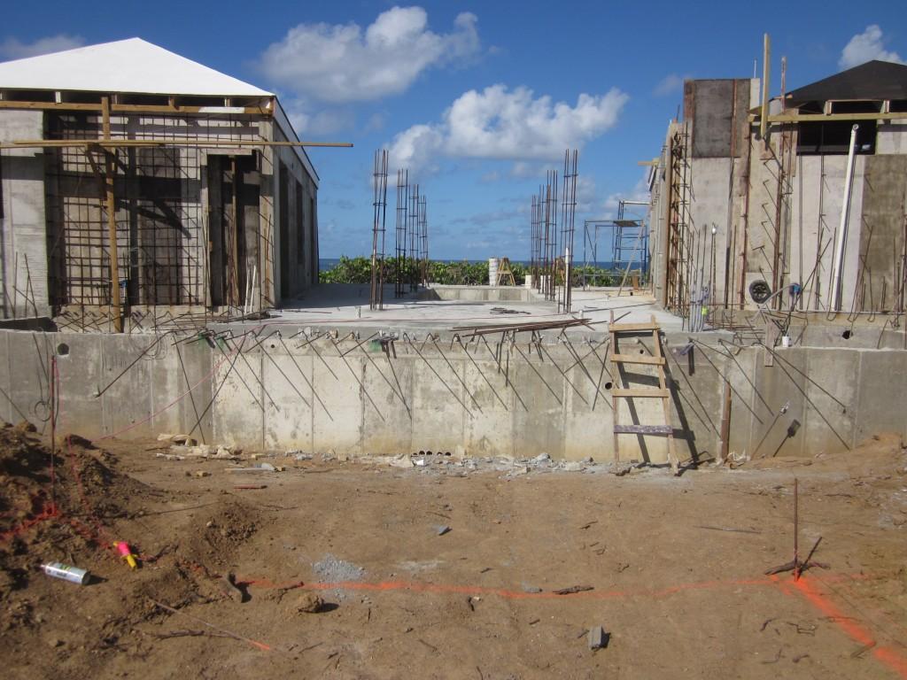 4/19/2011 - Deck pour complete
