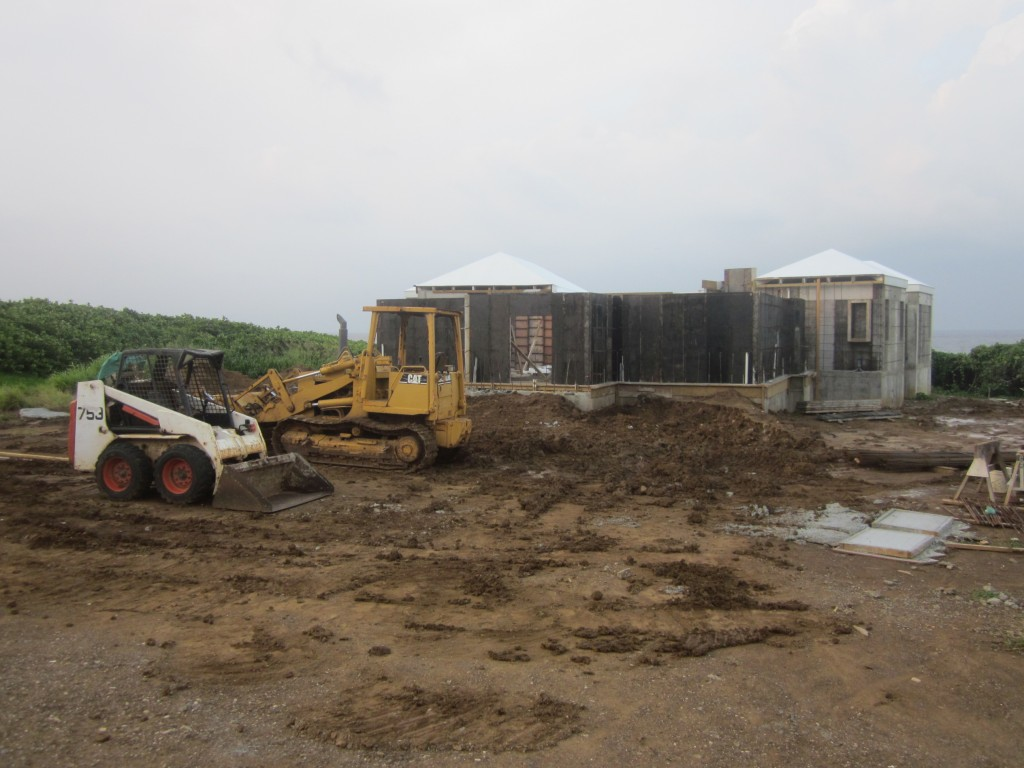 6/6/2011 - Wall forming continues