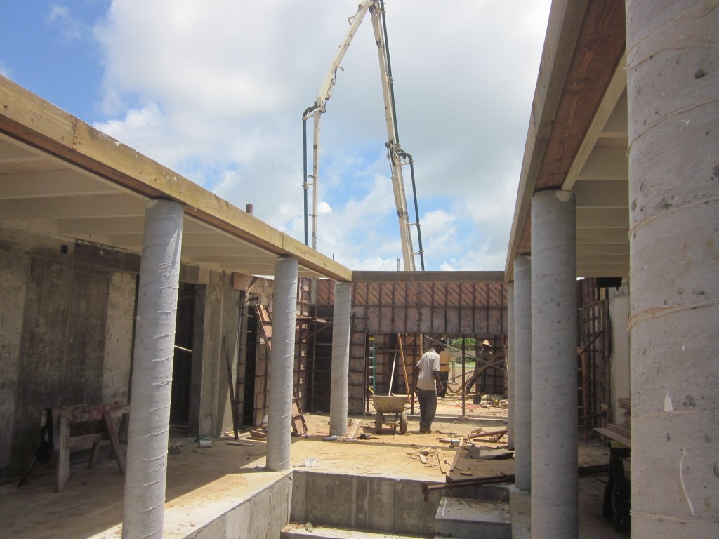 6/18/2011 - Time to pour the walls