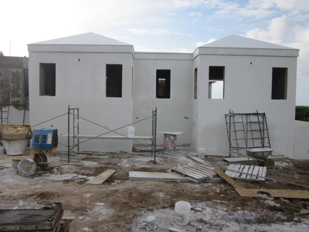 7/12/2011 - Plaster work