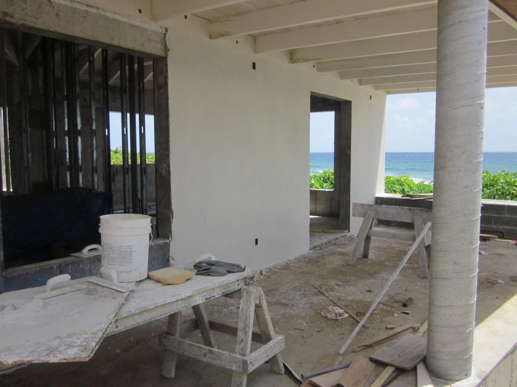 7/21/2011 - Plaster work