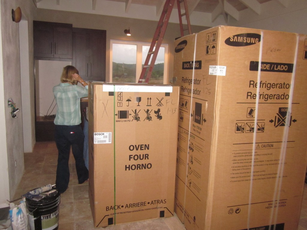1/10/2012 - Appliance Delivery